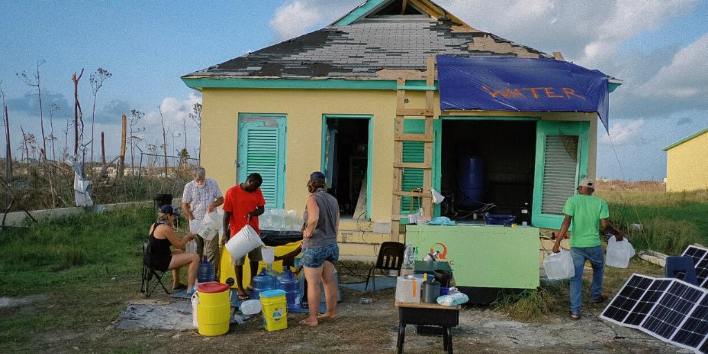 Volunteers Responding to Disaster