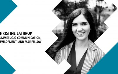 Summer 2020 Fellow: Christine Lathrop